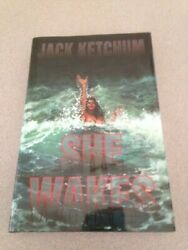 She Wakes by Jack Ketchum (First Hardcover Edition) Signed Limited Signed