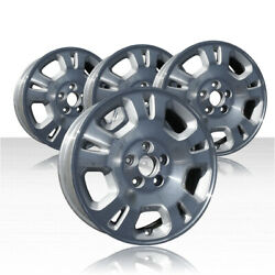 REVOLVE 17x6 Machined and Silver Wheel for 2001-2002 Acura MDX (Set of 4)