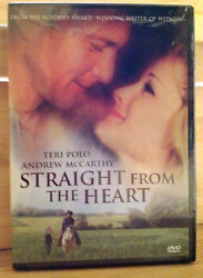 Straight From the Heart ( DVD 2007 ) R1 NTSC  RARE  FACTORY SEALED