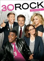 30 ROCK SEASON 6 New Sealed 3 DVD Set