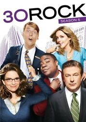 30 ROCK SEASON 5 New Sealed 3 DVD Set