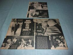Connie Stevens does she say yes to easy  vintage clipping #XD