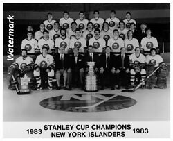 NHL 1982 - 83 New York Islanders Stanley Cup Champs Team Pic  8 X 10 Photo Pic