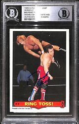 Dynamite Kid Signed 1985 O-Pee-Chee WWF Card 43 BAS COA WWE The British Bulldogs $199.99