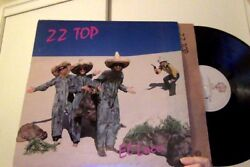 NM lp ZZ TOP EL LOCO album TUBE SNAKE BOOGIE Pearl necklace PARTY ON THE PATIO