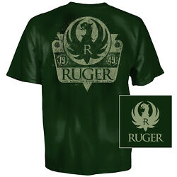 Ruger Shield T Shirt XL Forest Green $12.99
