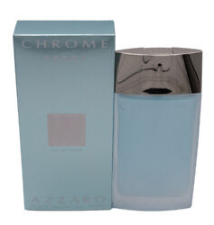 Chrome Sport by Azzaro 3.4 oz EDT Cologne for Men New In Box $22.07