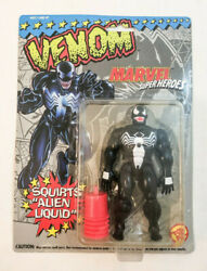 VENOM ACTION FIGURE - SQUIRTS ALIEN LIQUID - MARVEL - TOYBIZ - MIPMOC 1993