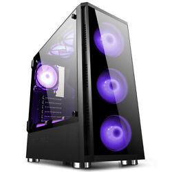 GOLDEN FIELD Z20 E ATX ATX M ATX Mid Tower PC Computer Case Gaming For Desktop $77.99