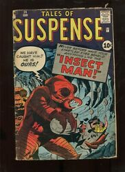 TALES OF SUSPENSE #24 (3.5) INSECT MAN KIRBY ART