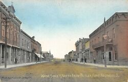 Fort Ft Recovery Ohio~Wayne Street North From Butler~Dentist~Dirt Road~1912 PC