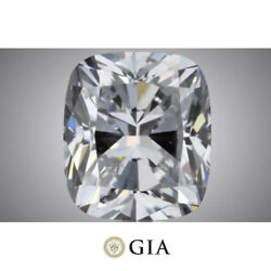 1.5 carat Cushion cut Diamond GIA report G color VS1 clarity loose Top Quality