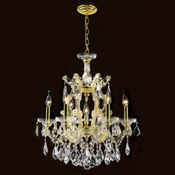 Palace Maria Theresa 6 Light Crystal Chandeliers light Gold  $495.00