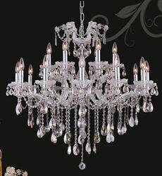 Lmited Edition Maria Theresa Chandelier Golden Teak Crystal C18lts 34