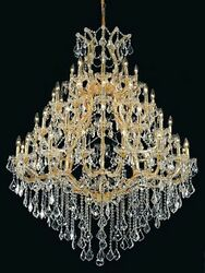 Palace Maria Theresa 49 Light Crystal Chandelier Light GOLD  46