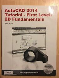 AutoCAD 2014 Tutorial First Level 2D Fundamentals Randy Shih $18.00