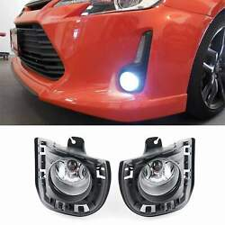 Fog Lights Driving Lamp Pairs For 2014 2015 2016 TOYOTA SCION TC  $40.00