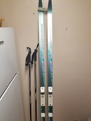 Rossignol TOURING AR cross country 195 cm Skis with no bindings Italy LTS used $25.00