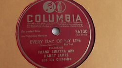 Harry James - 78rpm single 10-inch – Columbia #36700 Every Day Of My Life