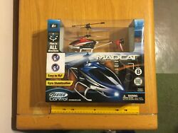 Estes Madcat Helicopter remote control NIB red $25.00