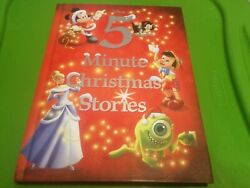 5-Minute Stories: Disney 5-Minute Christmas Stories by Disney Book Group (2016