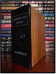 American Gods ✎SIGNED✎ by NEIL GAIMAN Hill House Ultimate Limited Lettered B52
