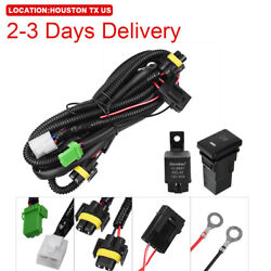 US Location Fog Light Wiring Harness Switch Kit 12V Fit Toyota Peugeot  $16.99