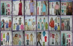 Choose 1 Womans PATTERN Plus siz 18W - 32W Dress Top Pants Jacket Tunic