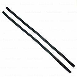 Qty 2 Hard Top to Bed Wall Rubber Seal Strips Adhesive Backed Samurai 80#x27; $29.99