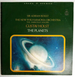 Holst The Planets Sir Adrian Boult The New Philharmonia Orchestra LP S 36420