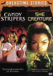 Dreadtime Stories Double Feature: Candy Stripers  She Creature Good DVDs
