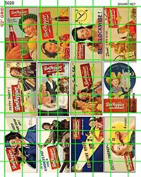 5020 DAVE#x27;S DECALS SODA COLA POP BILLBOARD ADVERTISING WOMEN LARGE SIGNS 40s 50s $7.44