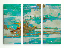 George Oliver 'Magical Spring II' Multi-Piece Image on Wrapped Canvas