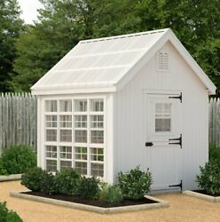 Little Cottage Company Colonial Gable 8 Ft. W x 8 Ft. D Greenhouse