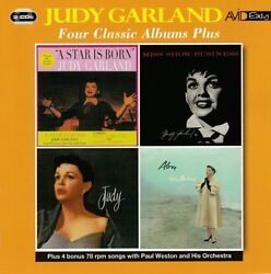 JUDY GARLAND - FOUR CLASSIC ALBUMS PLUS - 4 ORIGINAL ALBUMS ON 2 x CD (NEW)