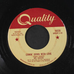 MEL GADSON: Comin' Down With Love  I'm Getting Sentimental Over You 45 (Canada