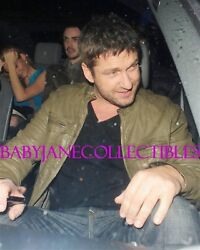 GERARD BUTLER HOLLYWOOD OPEN CROTCH LIMO CANDID photo 2 (98)