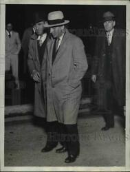 1930 Press Photo M.S. Sisson arrested as a suspect in the murder of Mary Baker
