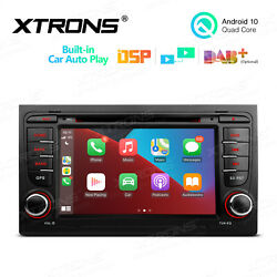 Xtrons For Audi A4 S4 B6 B7 RS4 Android 10.0 Car Stereo Radio GPS DVD USB SD $259.99