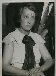 1935 Press Photo Blanche Dunkel confessed that she hired slayer of Son-in law