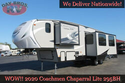 20 Coachmen Chaparral Lite 295BH Towable RV 5th Wheel Bunkhouse Trailer Camper