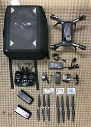 3DR Solo Drone RC Quadcopter Kit Bundle w Backpack 2 Batteries