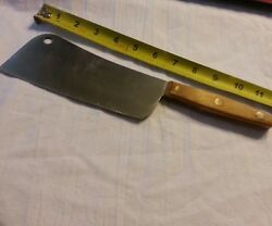 Vintage CARRIER COOK KNIFE By BUTLER OF SHEFFIELD Meat Cleaver