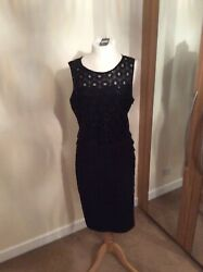 Bnwt Principles By Ben De Lisi Black Cocktail Dress Size 16 Christmas party GBP 29.99