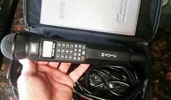 Magic Sing ET Karaoke Microphone in bag with book cables... no chip enter tech