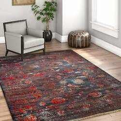 Well Woven Brown Chic Luxury Modern Boho Stain-resistant Area Rug - 5'3