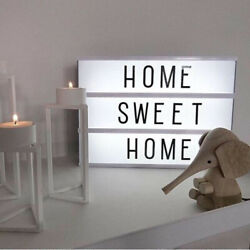 75PC For A4 Cinematic Light Up Letter Box Sign Message Board Party Wedding Decor