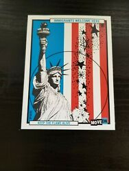 Immigrants welcome here sticker