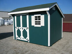Little Cottage Company Classic Saltbox Solid Wood Storage Shed