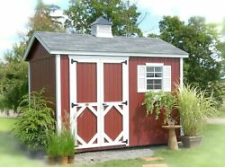 Little Cottage Company Classic Wooden Storage Shed